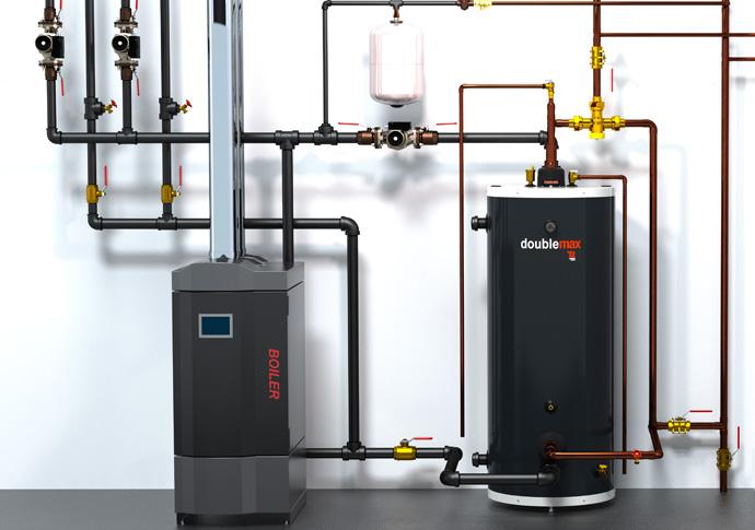 rendu environnement DoubleMax et chauffe-eau