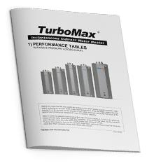 TurboMax Performance Table
